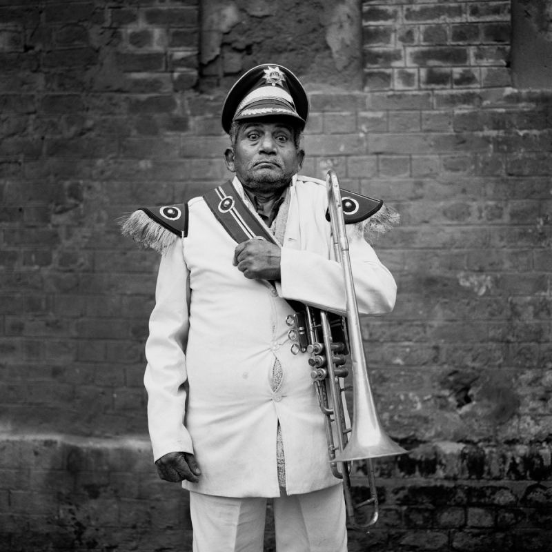 Weding Band Man, Paharganj, New Delhi, 2004